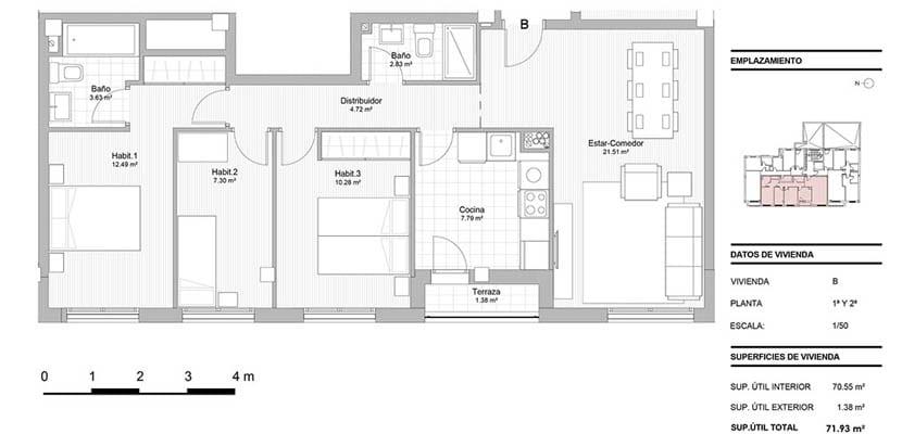 enfoque plano casa