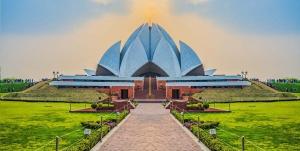 Templo del Loto (India)