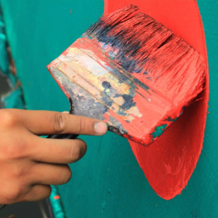 Pinturas sostenibles para una casa sostenible